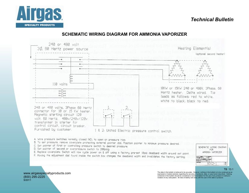 Airgas Specialty Products Technical Bulletins